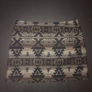 Dalia Collection Skirts - Dahlia Collection work skirt woven tribal design